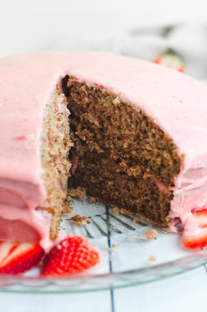 Enjoy Topped With Additional Strawberry Slices And A Glass Of Non Dairy Milk Or Go The Classic Route Add Slice Cake Directly To Your Cup