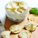 Herbed cashew cream cheese