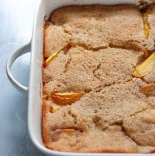 Cozy Peach Cobbler