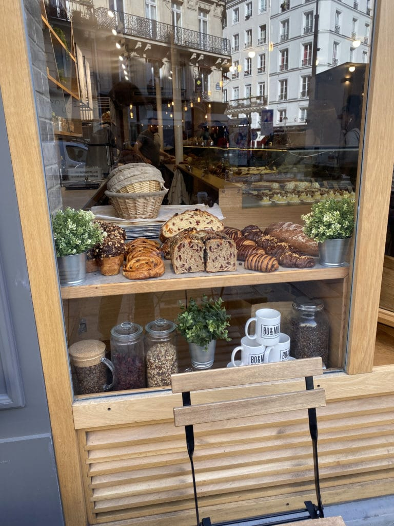 Storefront of BO&MIE