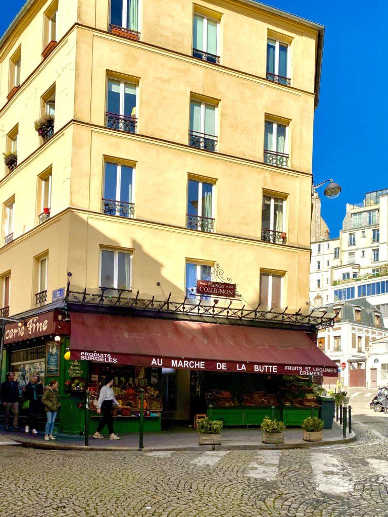 Parisian market