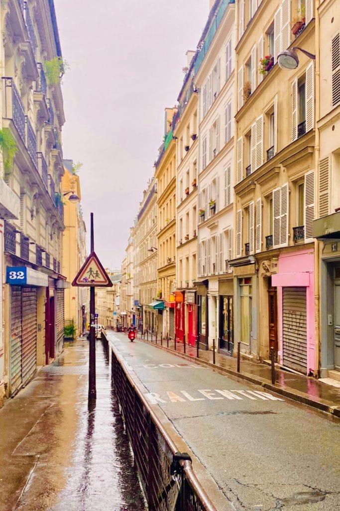 City block in Paris